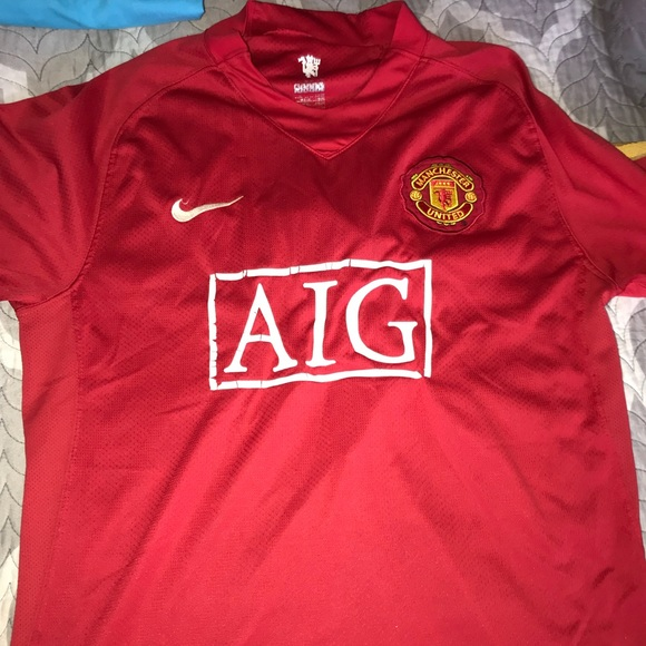 check out ff788 79e6c 2007 VINTAGE MANCHESTER UNITED RONALDO JERSEY 🔥